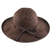 Wholesale Ladies Crushable Hats with Beaded Trim