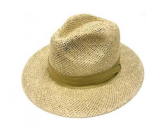 Wholesale Straw Gambler Hats With Band