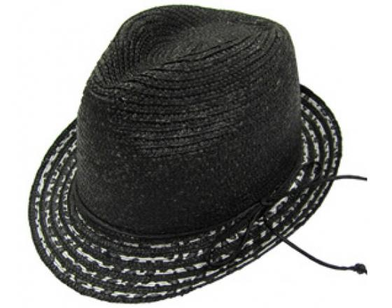 Wholesale Mens Hand-Made Straw/Cotton Panama Fedora Hats