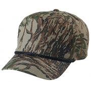 Wholesale High Profile Camouflage Golf Hats