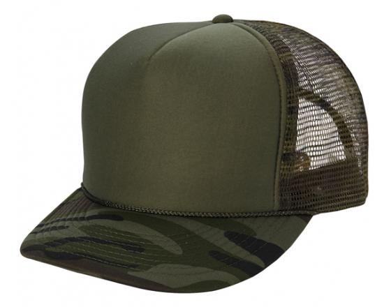 Wholesale Camouflage Summer Trucker Hats
