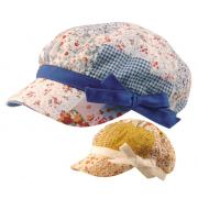 Wholesale Toddler Girls Floral Newsboy Hats