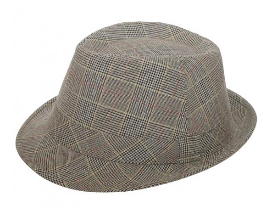 Wholesale Men's Plaid Fedoras