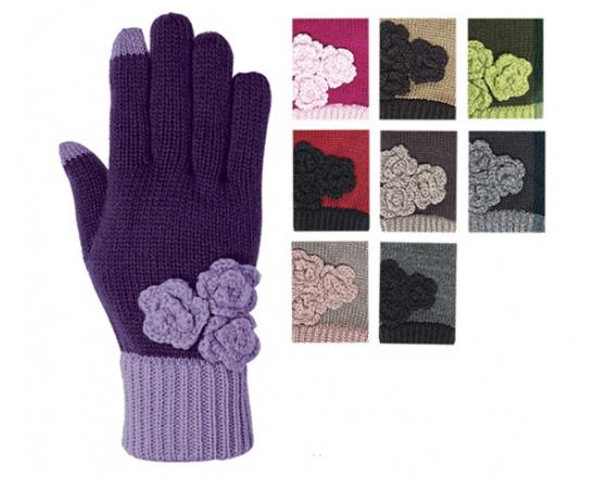 Wholesale Three Flower Glove w/SmartTips