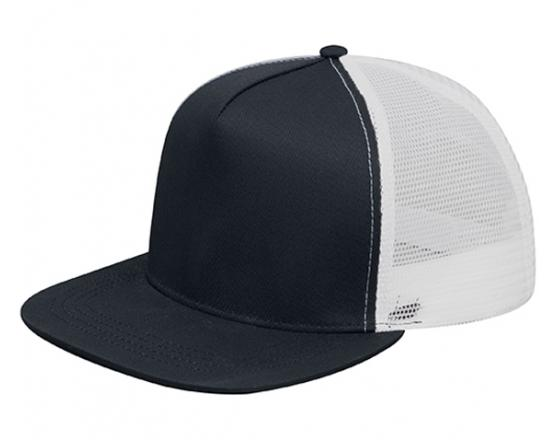 Wholesale Two Tone Flat Bill Snapback Trucker Hats