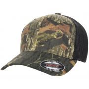 Wholesale Flexfit™ Yupoong Licensed Mossy Oak® Stretch Mesh Fitted Hats