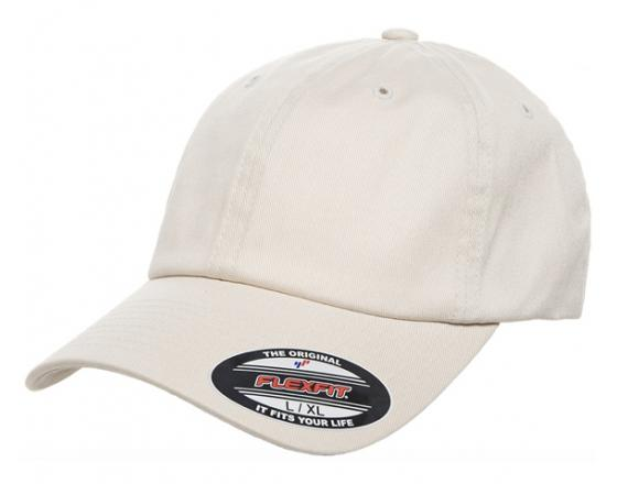 Wholesale Flexfit™ Yupoong Fitted Cotton Twill Dad Hats - 6745 a327244ffe53