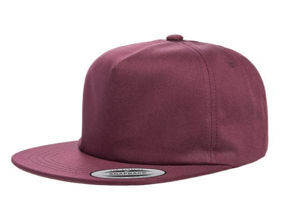 Wholesale Flexfit™ Yupoong Lightly Structured Flat Bill Snapback Hats