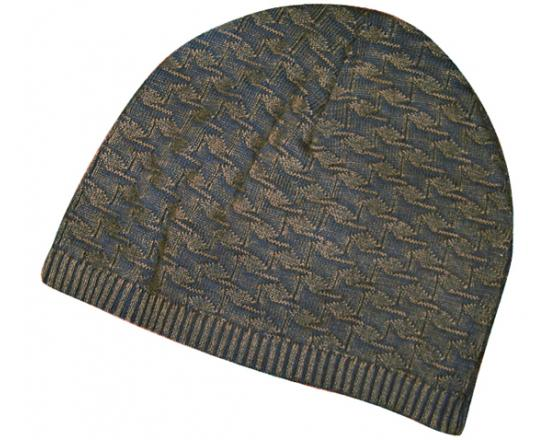 4dfabe863e0 Wholesale Houndstooth Cotton Discharge Pattern Beanies - B4059