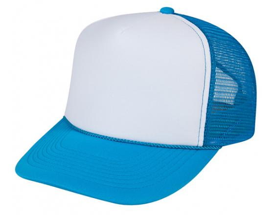 Wholesale Neon Traditional Two Tone Mesh Trucker Hats
