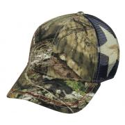 Wholesale Licensed Mossy Oak® Flag Mesh Back Trucker Hats