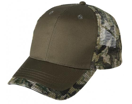 Wholesale Camouflage Print Mesh Back Trucker Hats