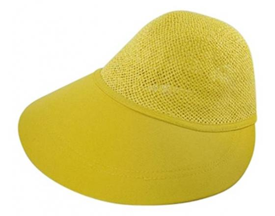 Wholesale Straw Golf Visor Hats