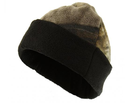 ef1283ee0f7 Wholesale Licensed Camouflage Fleece Reversible Cuffed Beanie with ...