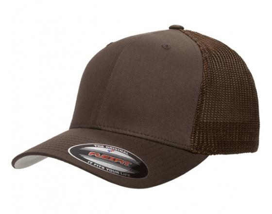 c4dadef33dadc Wholesale Flexfit™ Yupoong Fitted Mesh Cotton Twill Trucker Hats - 6511