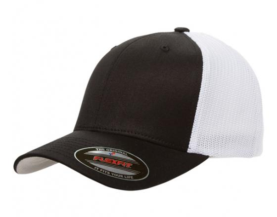 Wholesale Flexfit™ Yupoong Fitted Cotton Twill Two Tone Trucker Hats