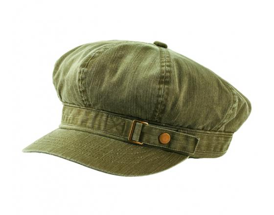Wholesale  Pigment Dyed Special Cotton Washed Newsboy Caps