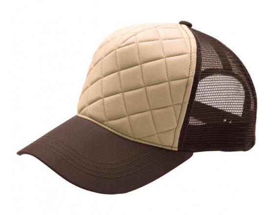 Wholesale Fashion Quilted Foam Front Trucker Hats