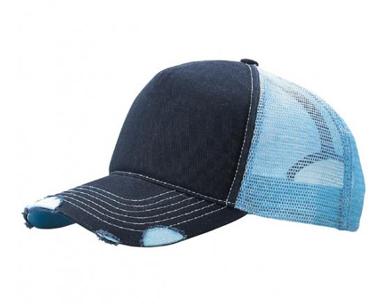 Wholesale Distressed Two Tone Trucker Hats