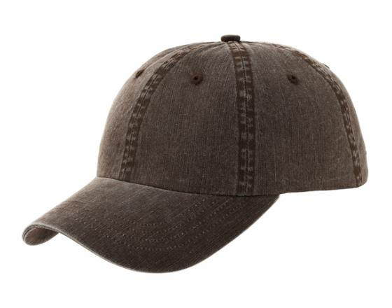 Wholesale Pigment Dyed Herringbone Cotton Twill Hats