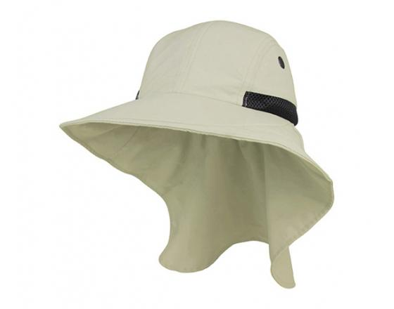 Wholesale Large Bill Flap with Moisture Wicking Sweatband Hats