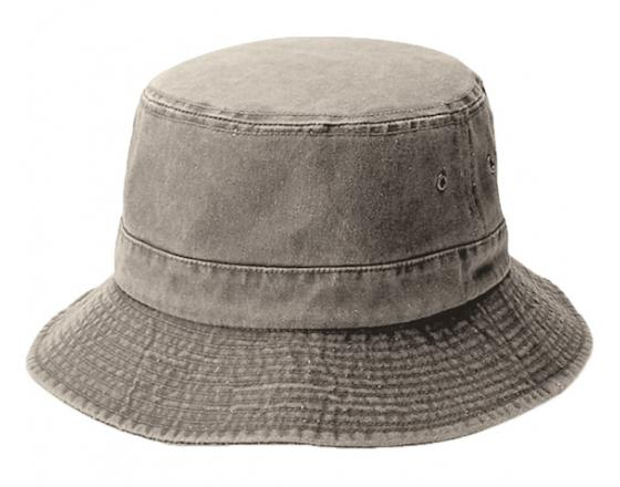 Wholesale Pigment Dyed Twill Washed Bucket Hats