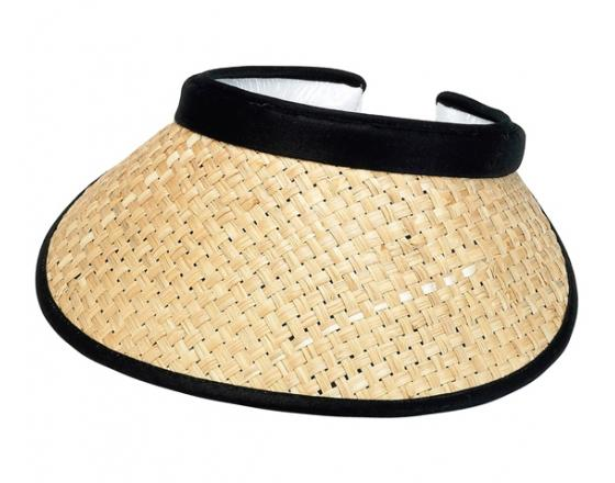 Wholesale Straw Clip-On Visors
