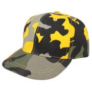 Wholesale Youth Low Profile Structured Camouflage Twill Caps