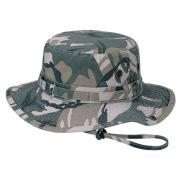 Wholesale Camouflage Twill Washed Bucket Hats