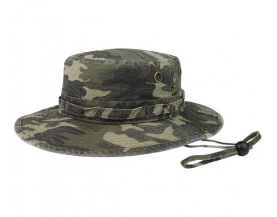 Wholesale Camouflage Rip-Stop Washed Hunting Hats