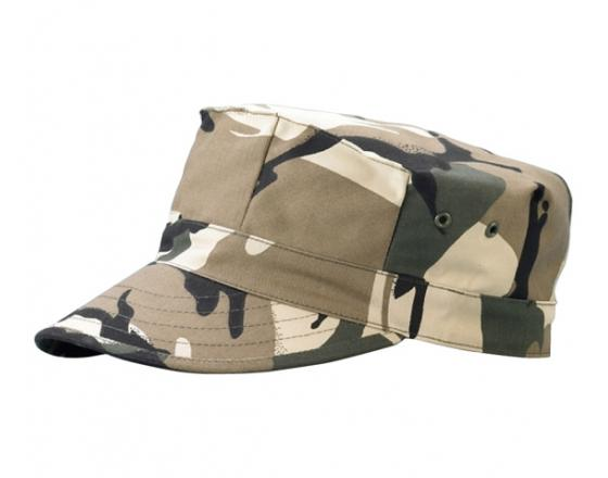 Wholesale Camouflage Pleated Twill Army Hats