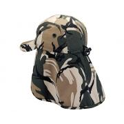 Wholesale Camouflage Twill Hats With Flap