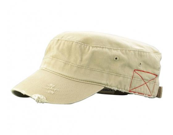 Wholesale Distressed Enzyme Washed Cotton Twill Army Hats