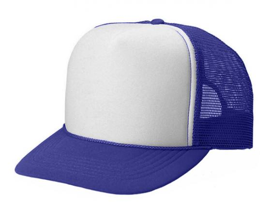 15cd7541 Wholesale Two Tone Polyester Mesh Back Trucker Hats - 7445T
