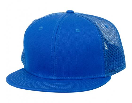 Wholesale Superior Cotton Pro Style Mesh Back Flat Bill Hats